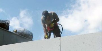 Coil Cleaning for Roof Top Units and Air Cooled Condenser Coils.